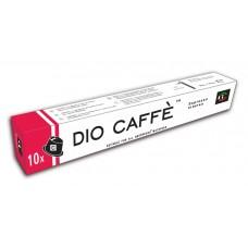 Купить Кофе капсулы для Nespresso Dio Caffe  Espresso Intenso 10 капсул в интернет-магазине