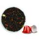 Чай Gutenberg черный ароматизированный Клубника со сливками  (совместимо с Nespresso)